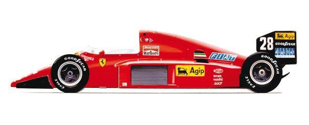 1986: Ferrari Ferrari F1/86 v6 Turbo