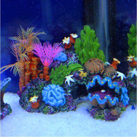 Pets Coral Fish Tank Aquarium Ornaments Aquarium Decorations
