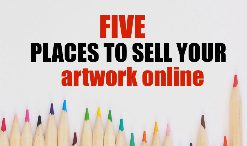 5 places to sell your artwork online artwork online