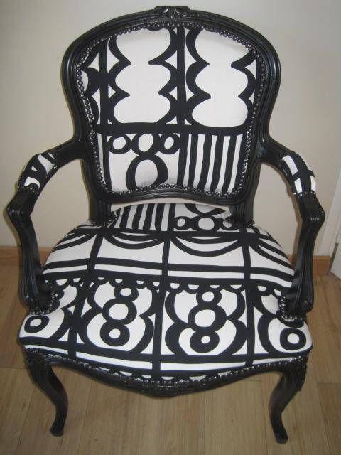 Fauteuil Bergere Style Louis Xv Relooke Furniture Shabby Chic Furniture Shabby Chic