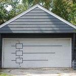 Retro garage door