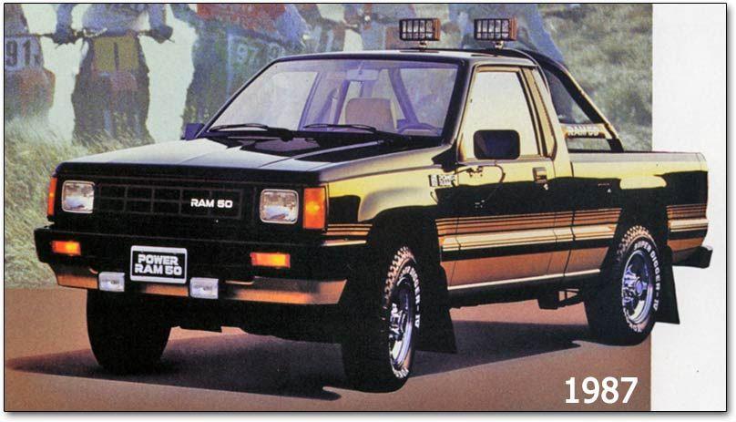 dodge ram 50 mitsubishi built compact pickup classic small er trucks pinterest dodge rams. Black Bedroom Furniture Sets. Home Design Ideas