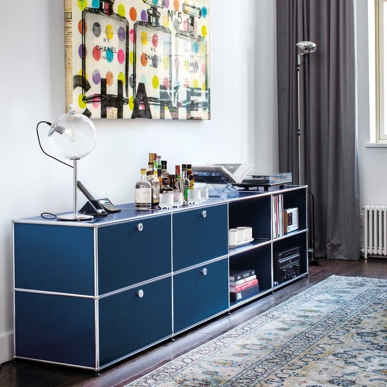 USM Haller Sideboard Presentation and Storage - USM Storage