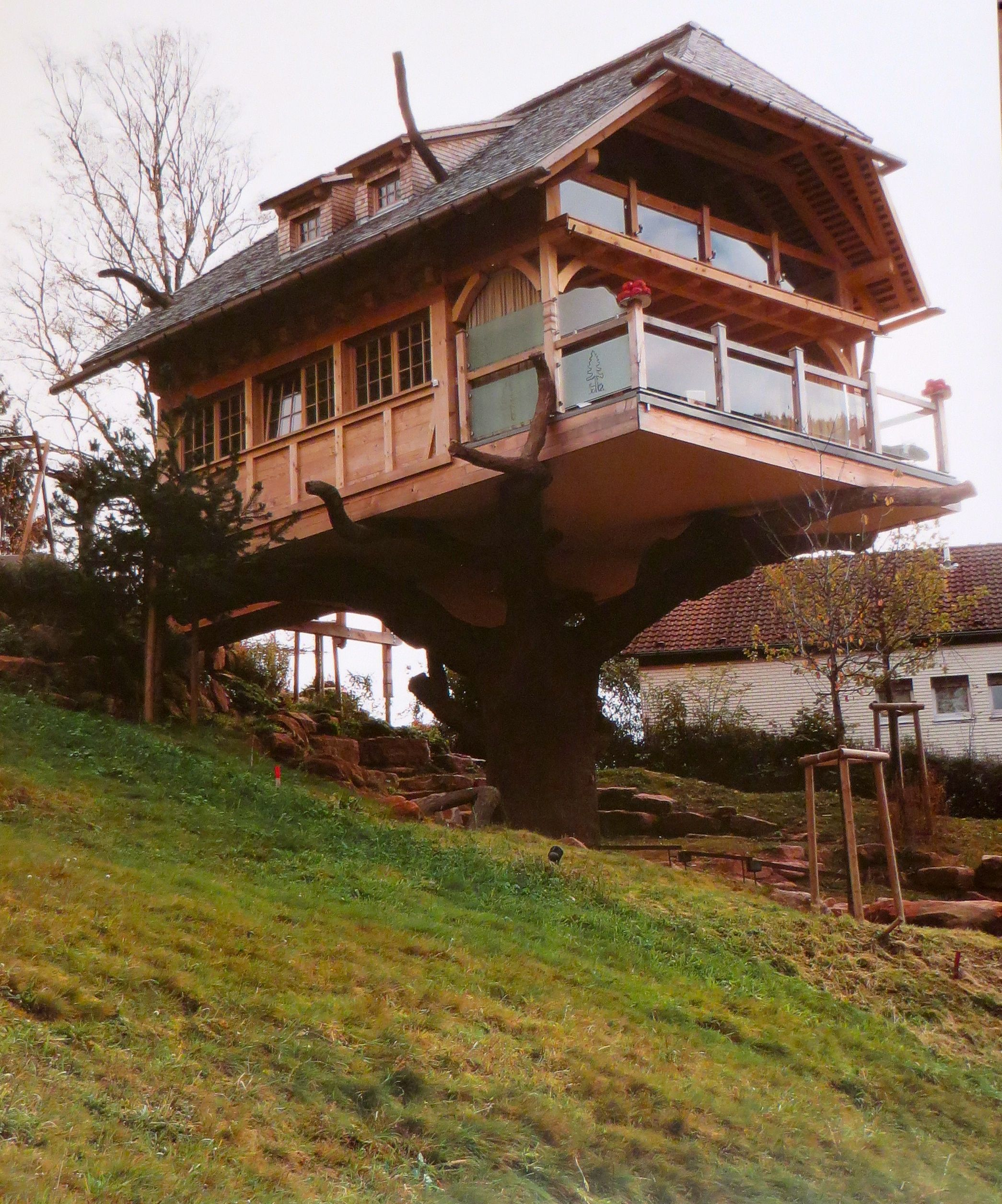 Baumhaus In The Black Forest Germany Tree House House Design House Styles