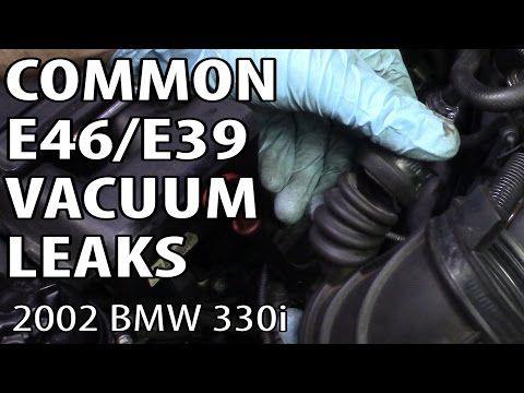 BMW E46 & E39 Most Common Vacuum Leaks P0171 & P0174 - YouTube | bmw