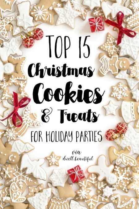 15 Delicious Christmas Cookies and Treats to Bring to a Holiday