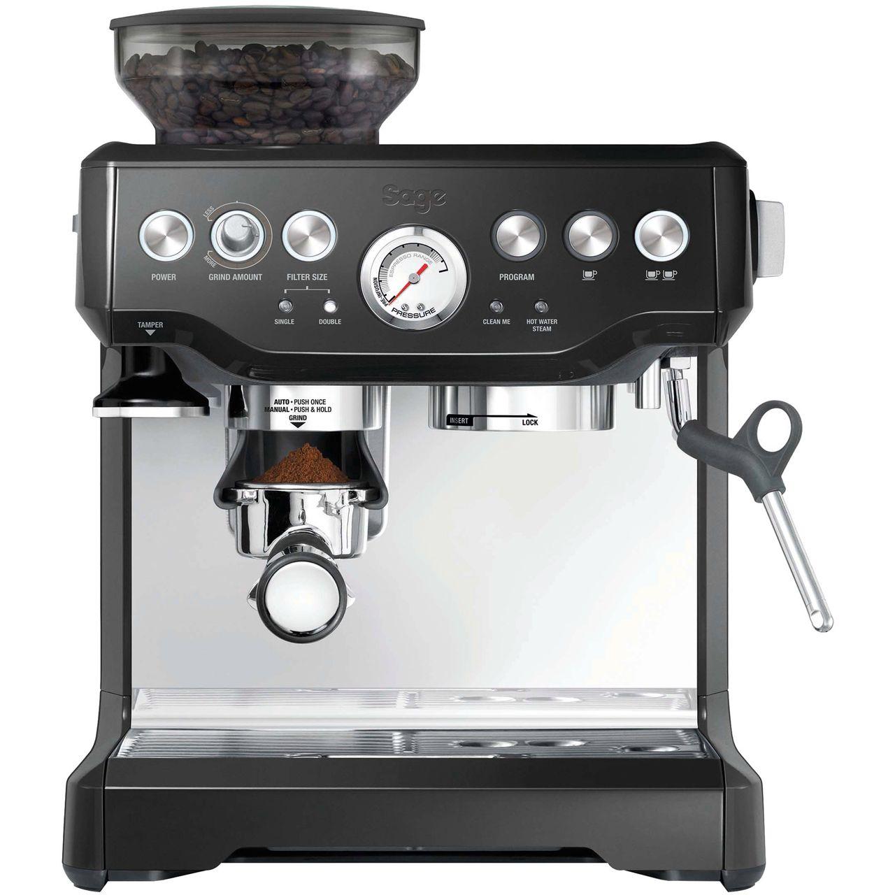 Bes875bks Bk Sage By Heston Blumenthal Espresso Breville Espresso Breville Espresso Machine Espresso Coffee Machine
