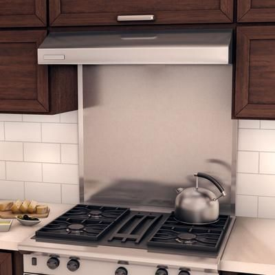 Inoxia Backsplashes Alpha Real Stainless Steel