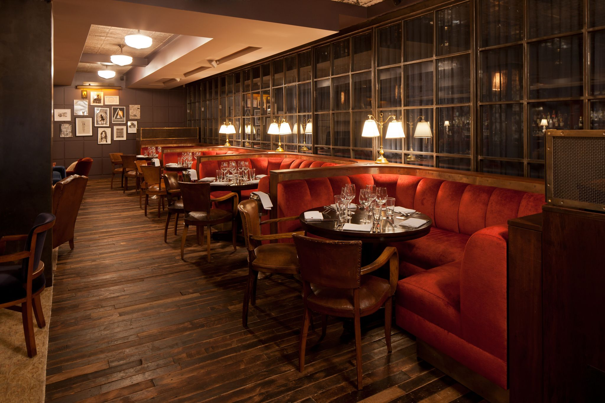 Club Bar   Soho House NY Nice Ideas