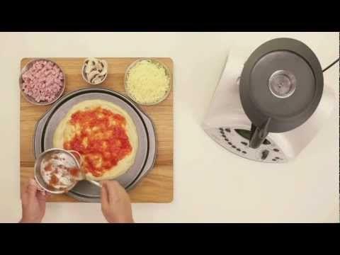 VIDEO Masa para pizza con Thermomix
