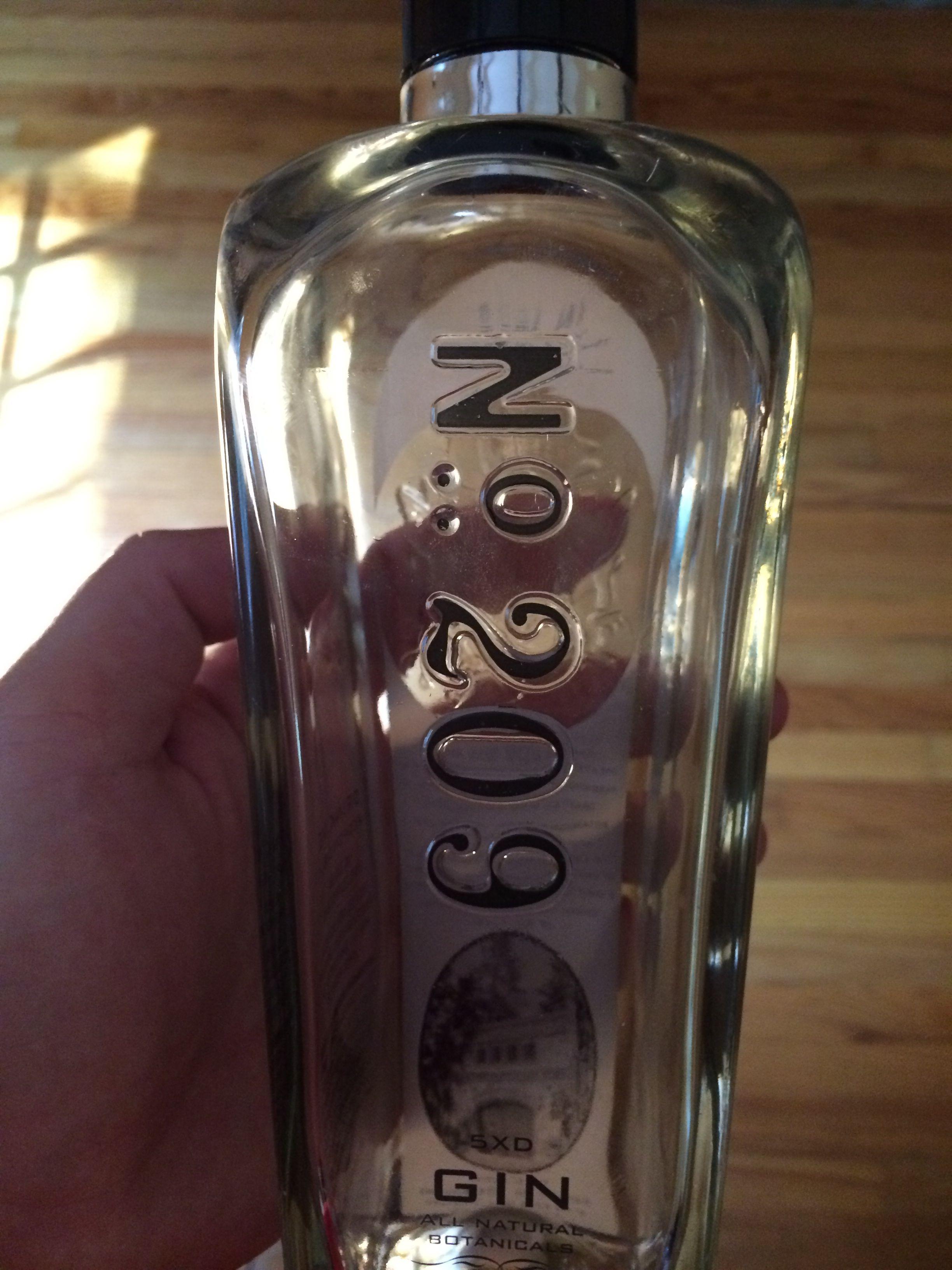 No. 209 gin Gin, Vodka, Vodka bottle