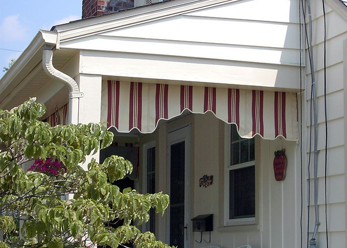 Pretty Awning Porch Valance Outdoor Porch House Front