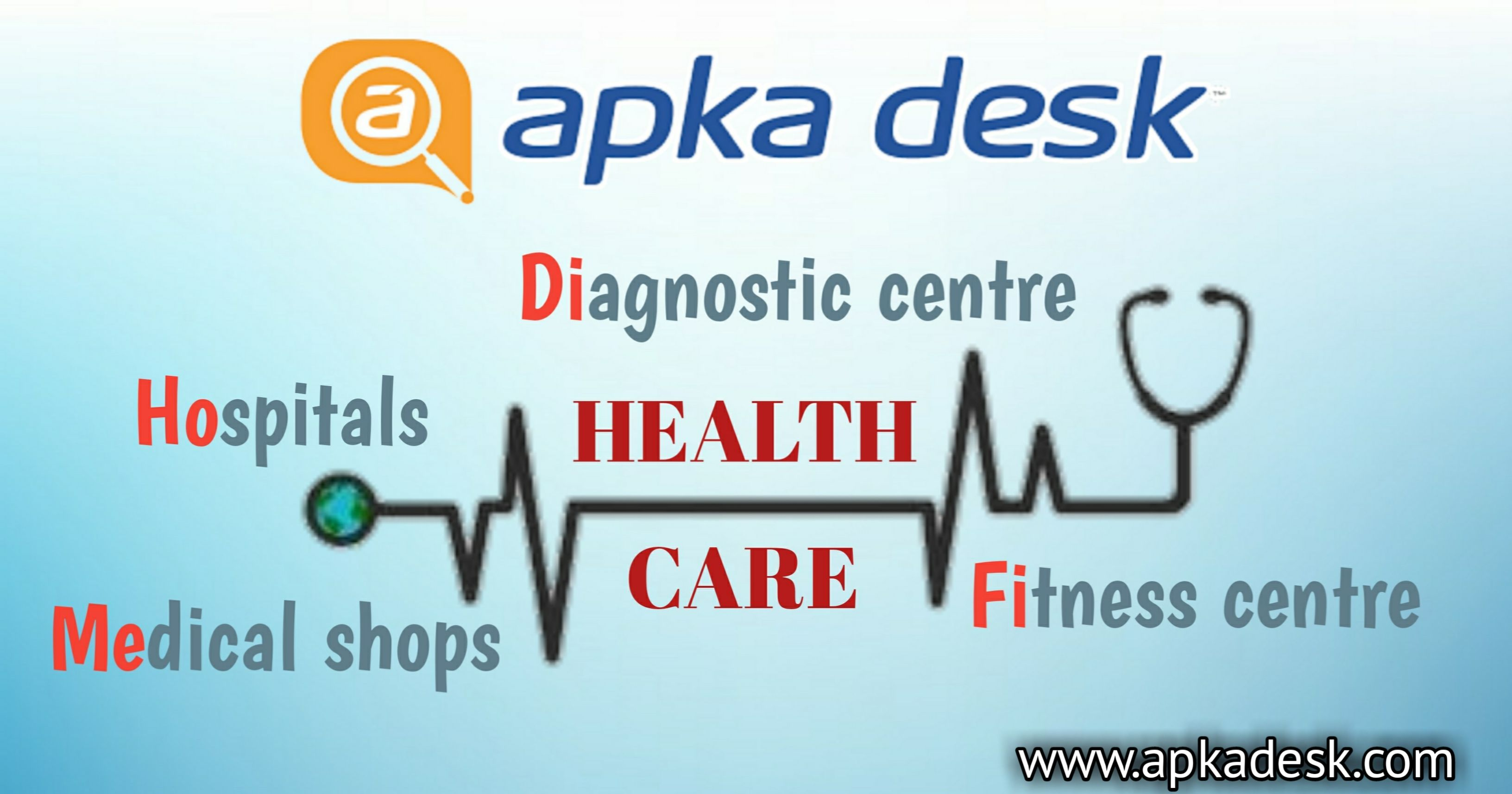 Apkadesk is the no 1 health portal which gives us the