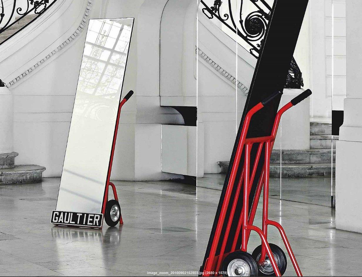 Roche Bobois_jean paul gaultier- trolley mirror