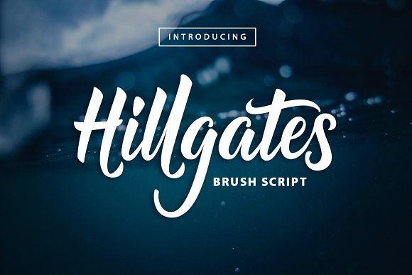 Hillgates by MERCURIAL on @creativemarket