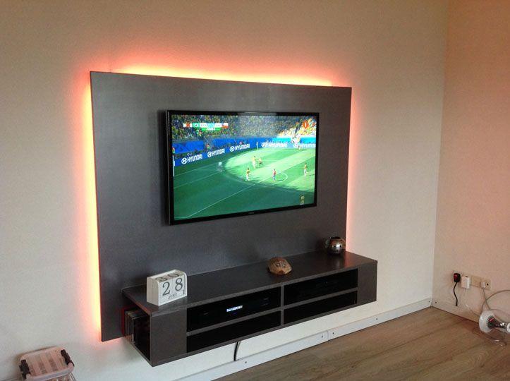 TV-meubel Penelope gemaakt door Henry - Tv, Net en Verlichting
