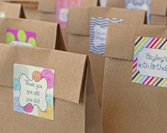 Party Bags Custom Favors