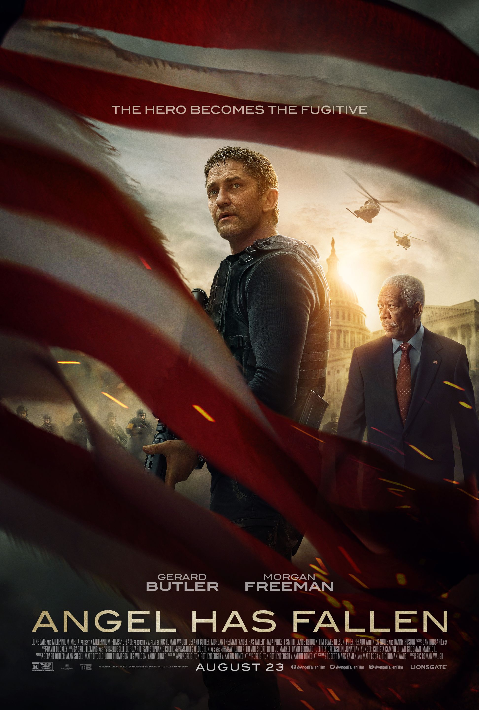 In Theaters August 23 2019 Starring Gerard Butler Morgan