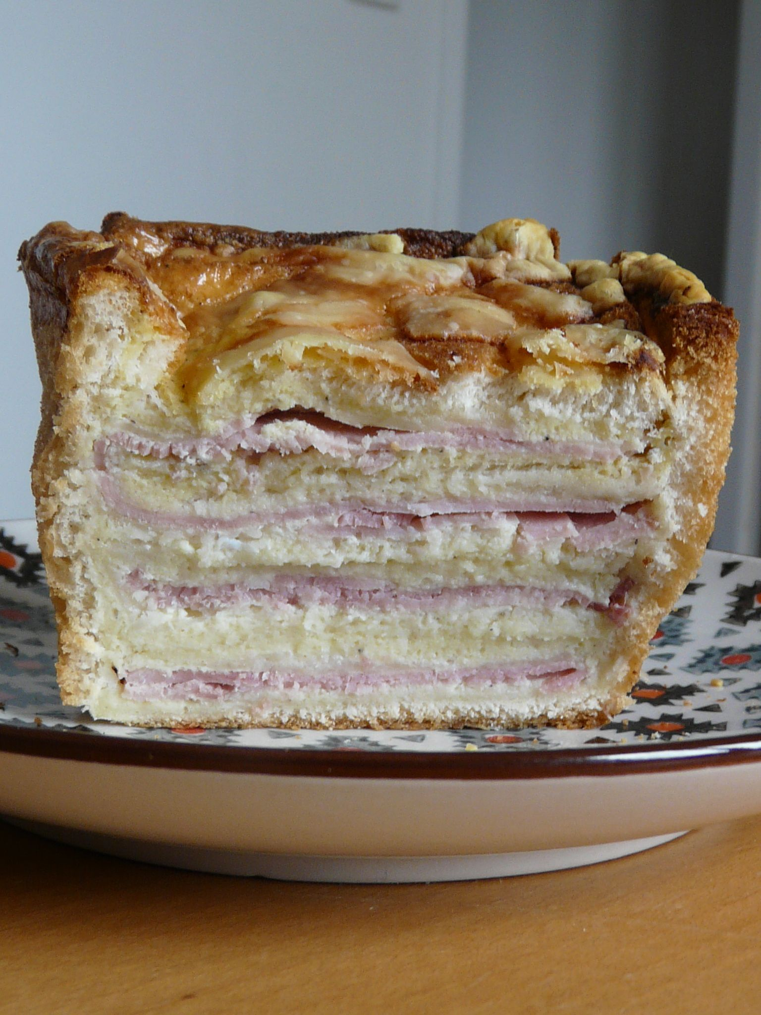 The amazing Croque cake - Gastronomades