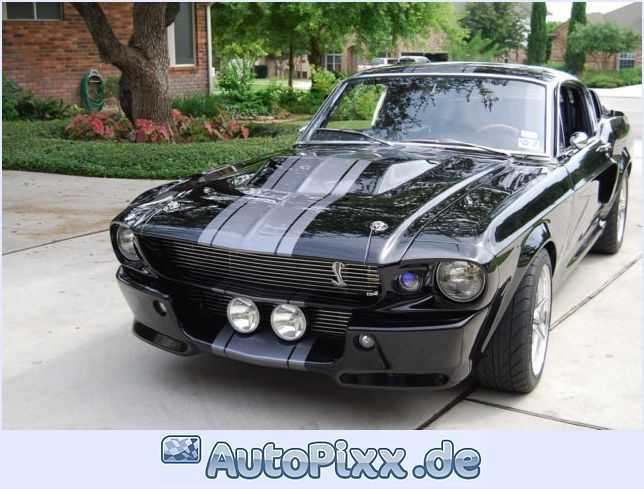 1967 Ford Mustang Shelby Gt500 Eleanor Bild Auto Pixx Ford