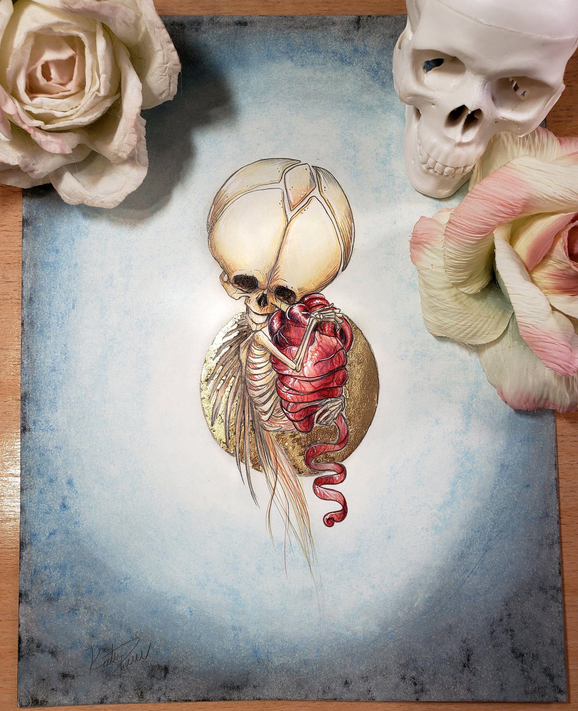Unraveling Original Art For Sale 8 5 X11 Pastel