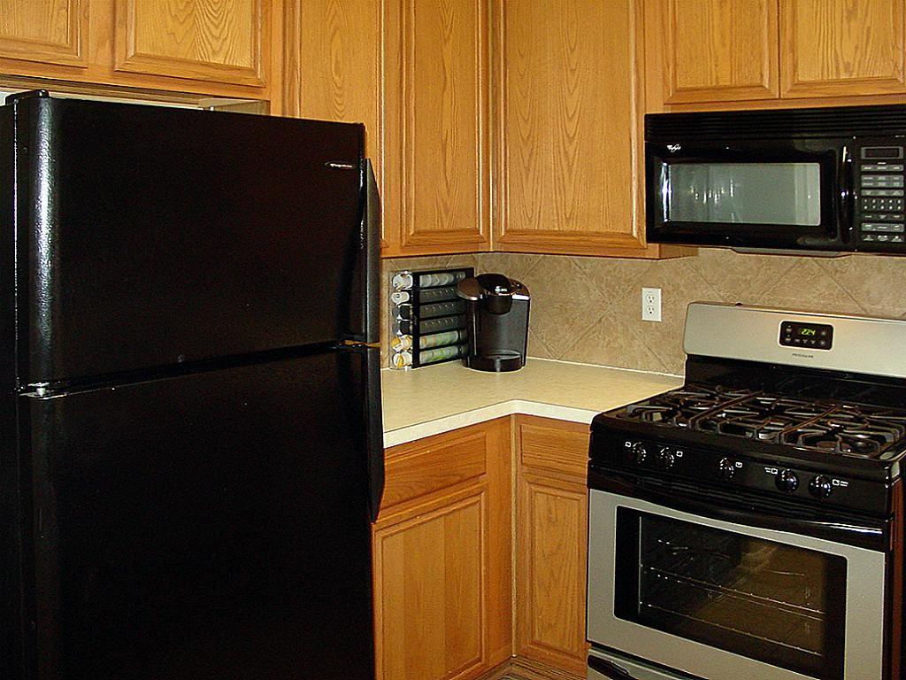 Black Appliances Kitchen #1 - Black Stainless Steel Appliances ...