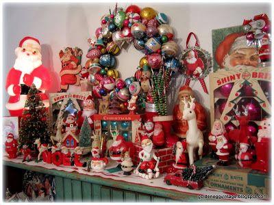 A whole lot of vintage Christmas goodness Christmas Decor, Food