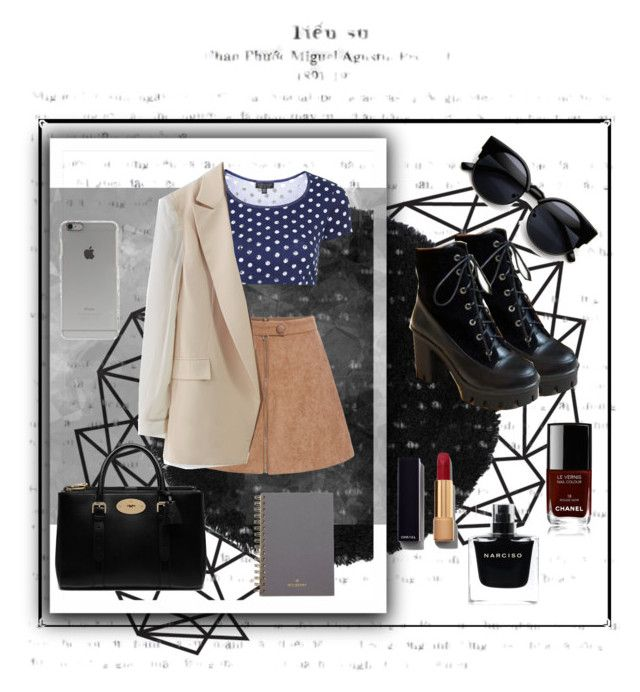 """""""Без названия #9"""" by belovakrist on Polyvore featuring мода, Topshop, Chicwish, Pangmama, Mulberry, Incase, Chanel, Narciso Rodriguez, women's clothing и women's fashion"""