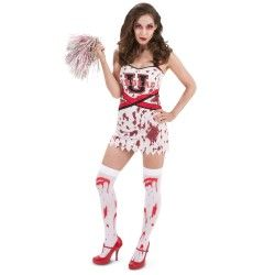 Absolutely Prehistoric| Monsters| Costumes and Gifts: Zombie Cheer Squad Adult Costume