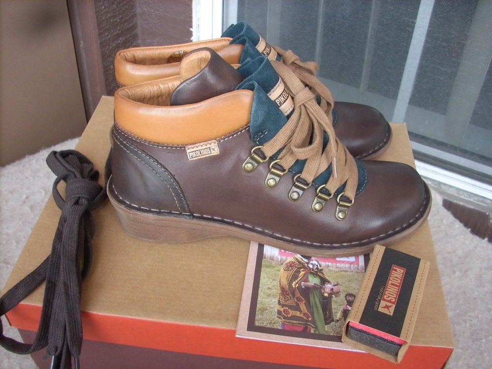 Pikolinos Uruguay boots 36 / 5.5 - 6 Leather New $210 #Pikolinos #AnkleBoots #Casual