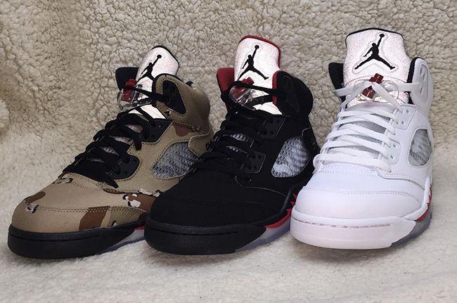 new photos ef948 ecc48 Supreme x Air Jordan 5. Supreme x Air Jordan 5 Nike Shoes Cheap, Nike Shoes  Outlet, Nike Free Shoes