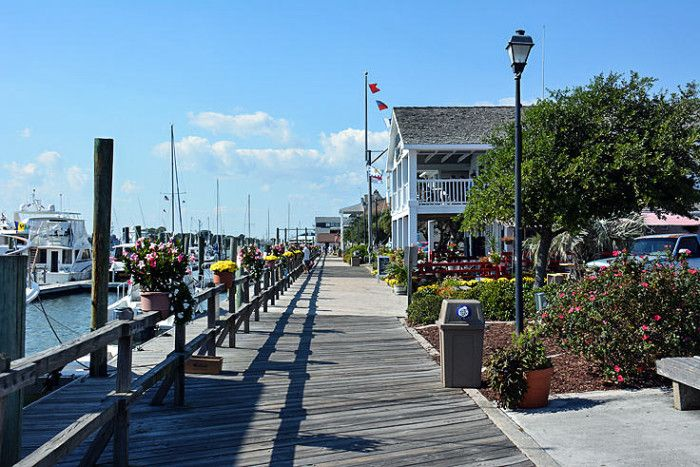 10 Most Charming Cities In Nc 5 Beaufort We Love Visiting Island Hop To Cape Lookout Nat L Seas Take The Double Decker Bus Tour Of Town
