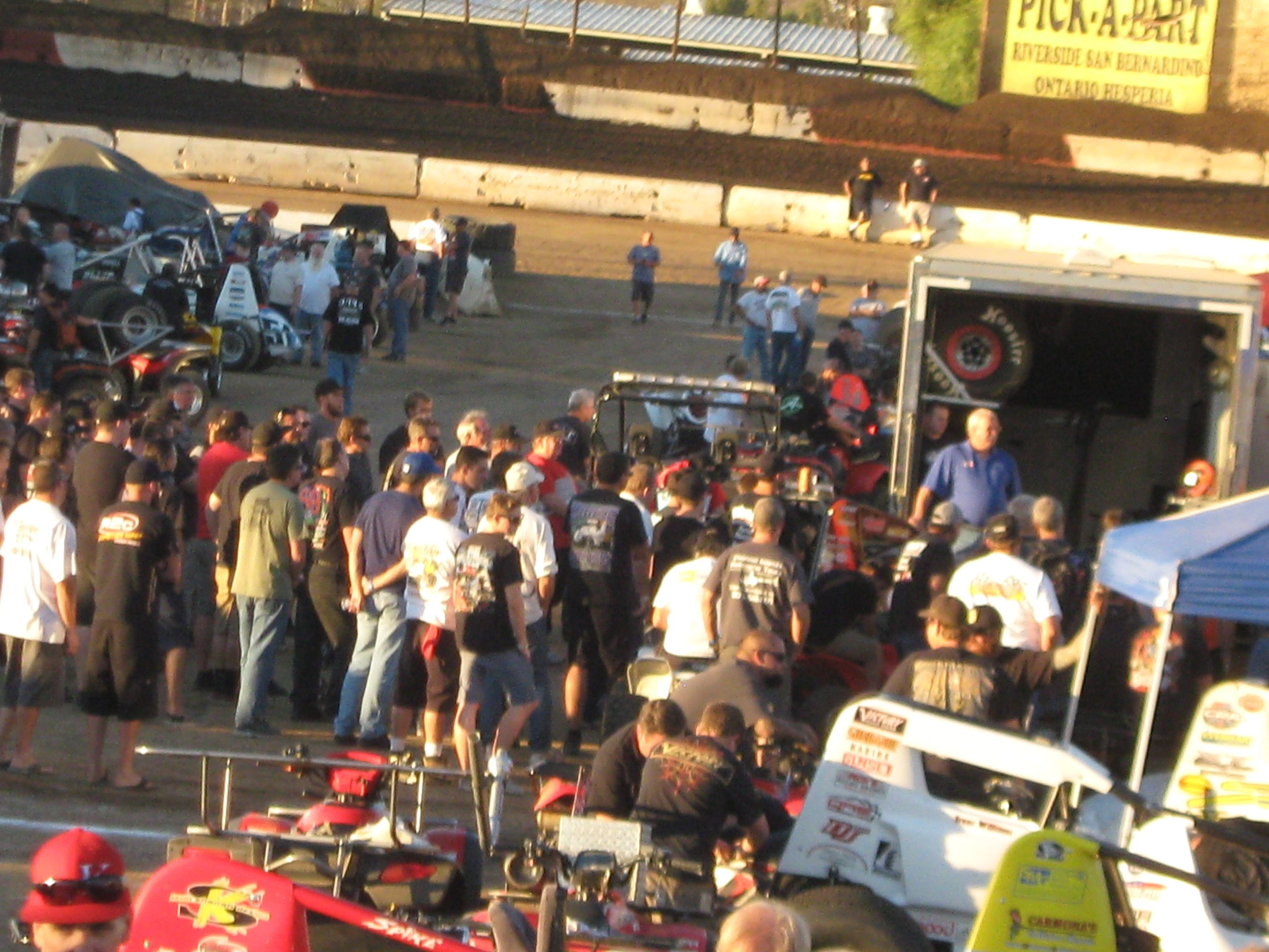 Pit Walk    Nov. 7, 2014  19th Annual Budweiser Oval Nationals @ Perris Auto Speedway November 5-8, 2014  Sponsored by All Coast Construction  http://perrisautospeedway.com #ovalnationals #allcoastconstruction #410sprints #360sprints #lightningsprints #seniorsprints #autospeedway #speedway #attractions #thingstodoinsoutherncalifornia #autoracing #stockcars #stockcarracing #sprintcars #trophygirls  #sprintcarracing