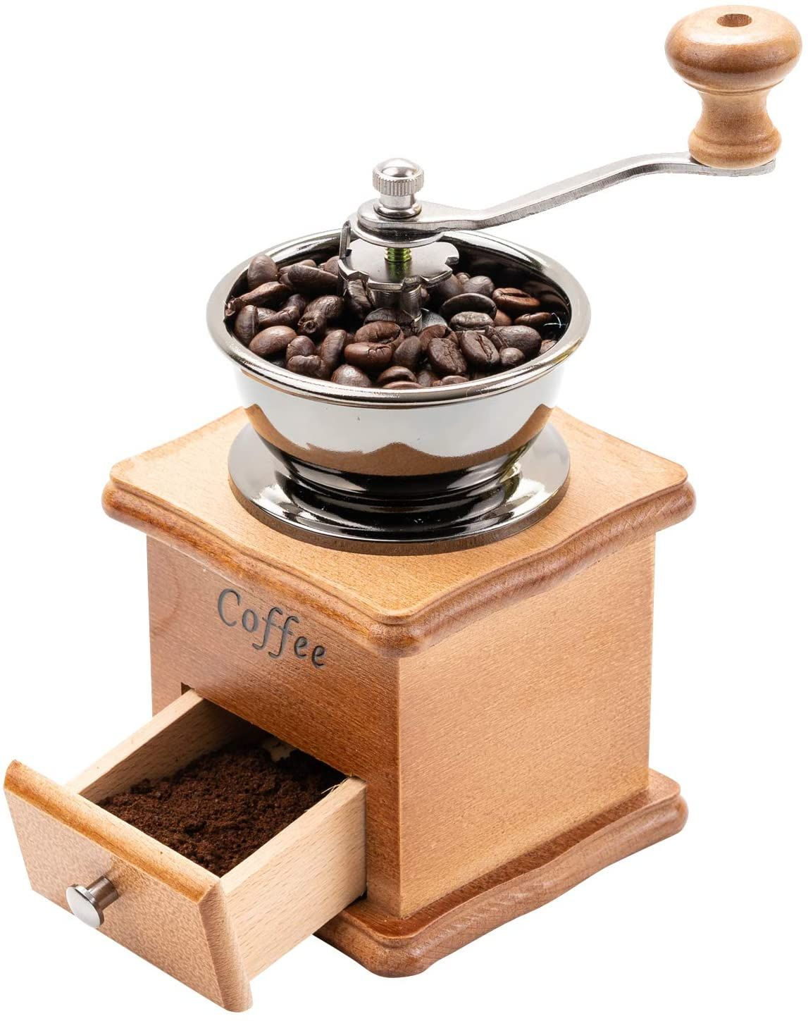 Price23.86 Affordable Premium Wooden Manual Coffee