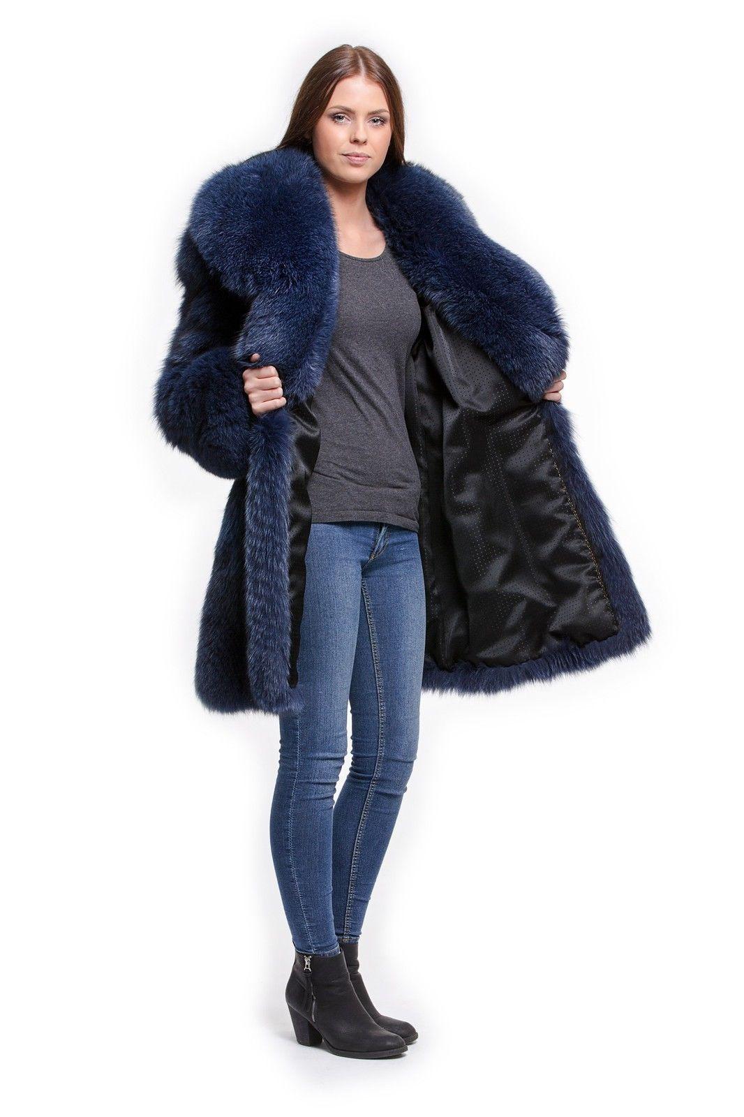 Fox fur coat | eBay