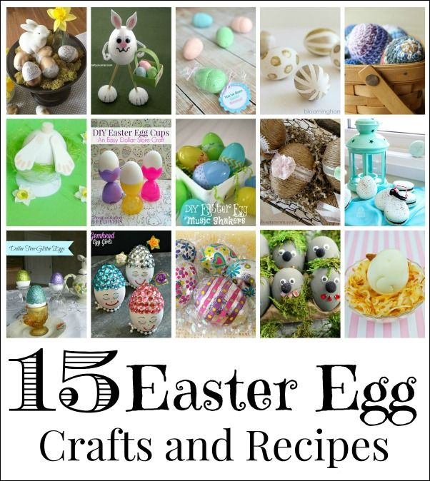 15 ways to decorate and serve easter eggs egg crafts easter and egg 15 ways to decorate and serve easter eggs negle Gallery