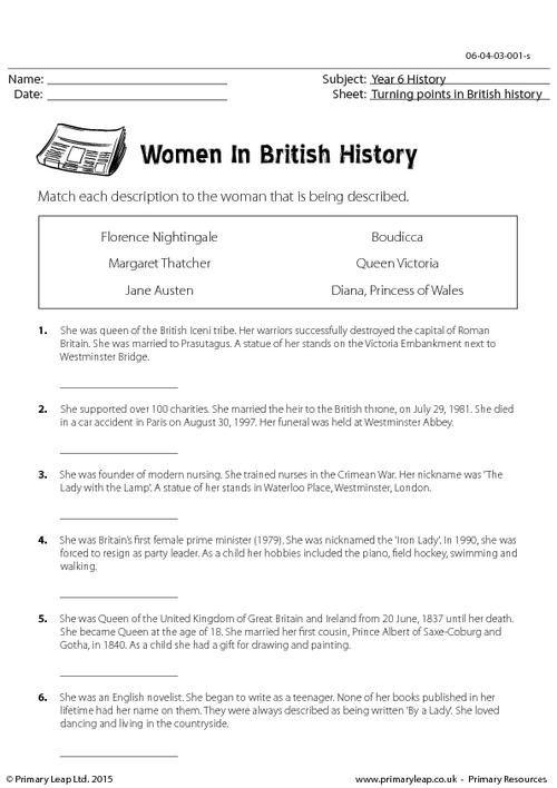 Famous Women In History Worksheet History Worksheets History Printables Social Studies Worksheets 4th grade history worksheets