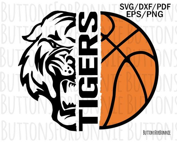 Tigers Basketball Svg Tigers Svg Basketball Svg Cut File Sports