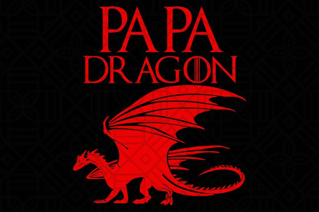 Download Papa dragon SVG Files For Silhouette, Files For Cricut ...
