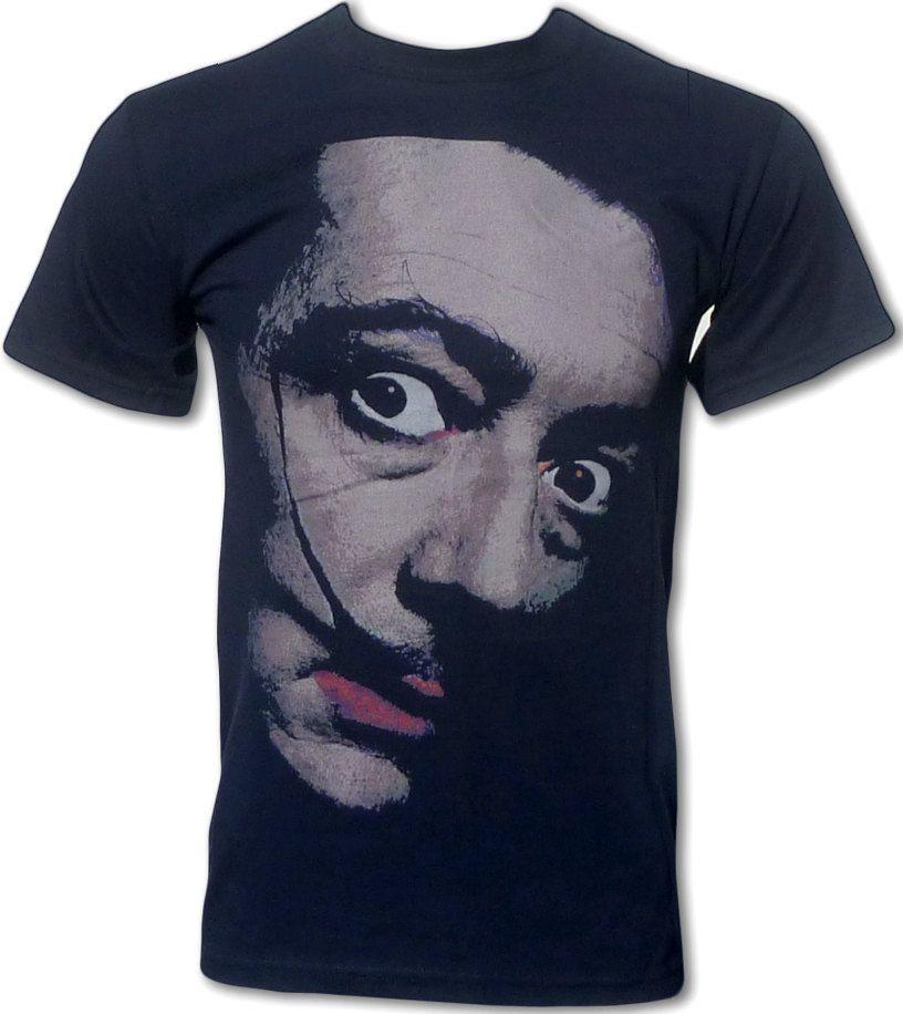 Salvador Dali Pop Art Retro T Shirt. $15.99, via Etsy.