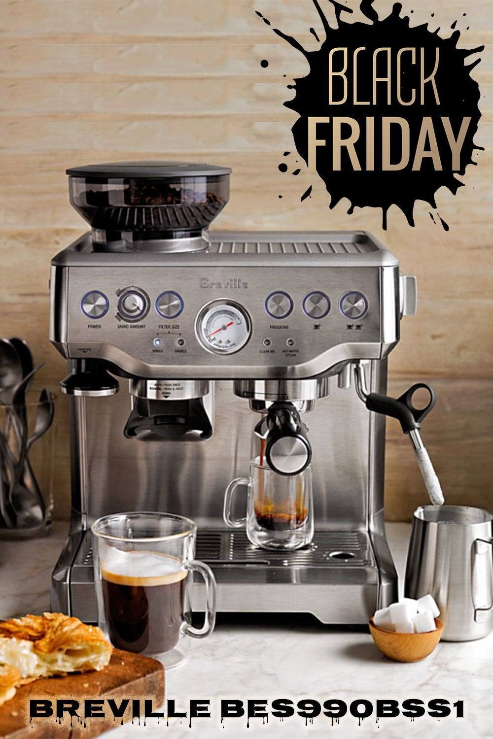 Holiday Deals On Amazon All Your Favorite Coffee Makers Cheaper Than Ever Get A Coffee Maker Espresso Breville Barista Express Best Espresso Machine