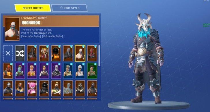 fortnite account rare skull trooper ghoul trooper christmas skins etc desc - fortnite ghoul und skull trooper