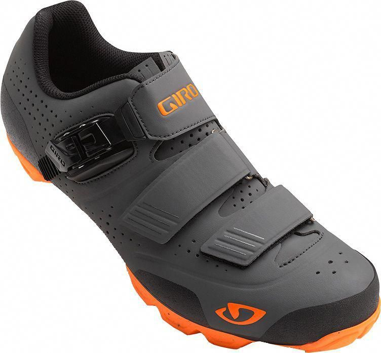 Giro Men S Privateer R Cycling Shoes Size 42 Dark Shadow Flame