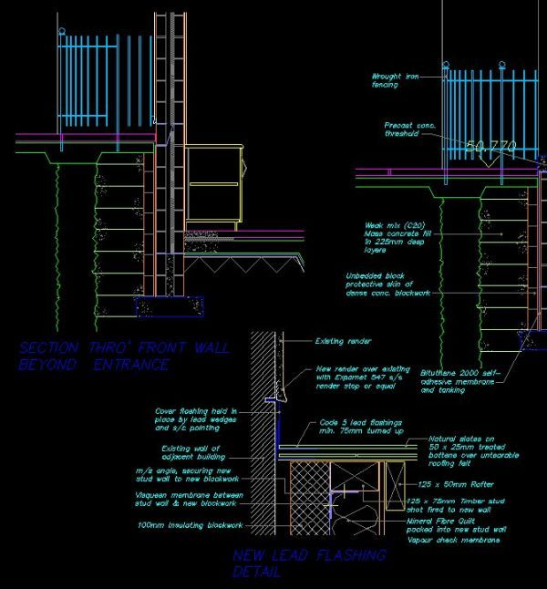 House Section】★-CAD Library