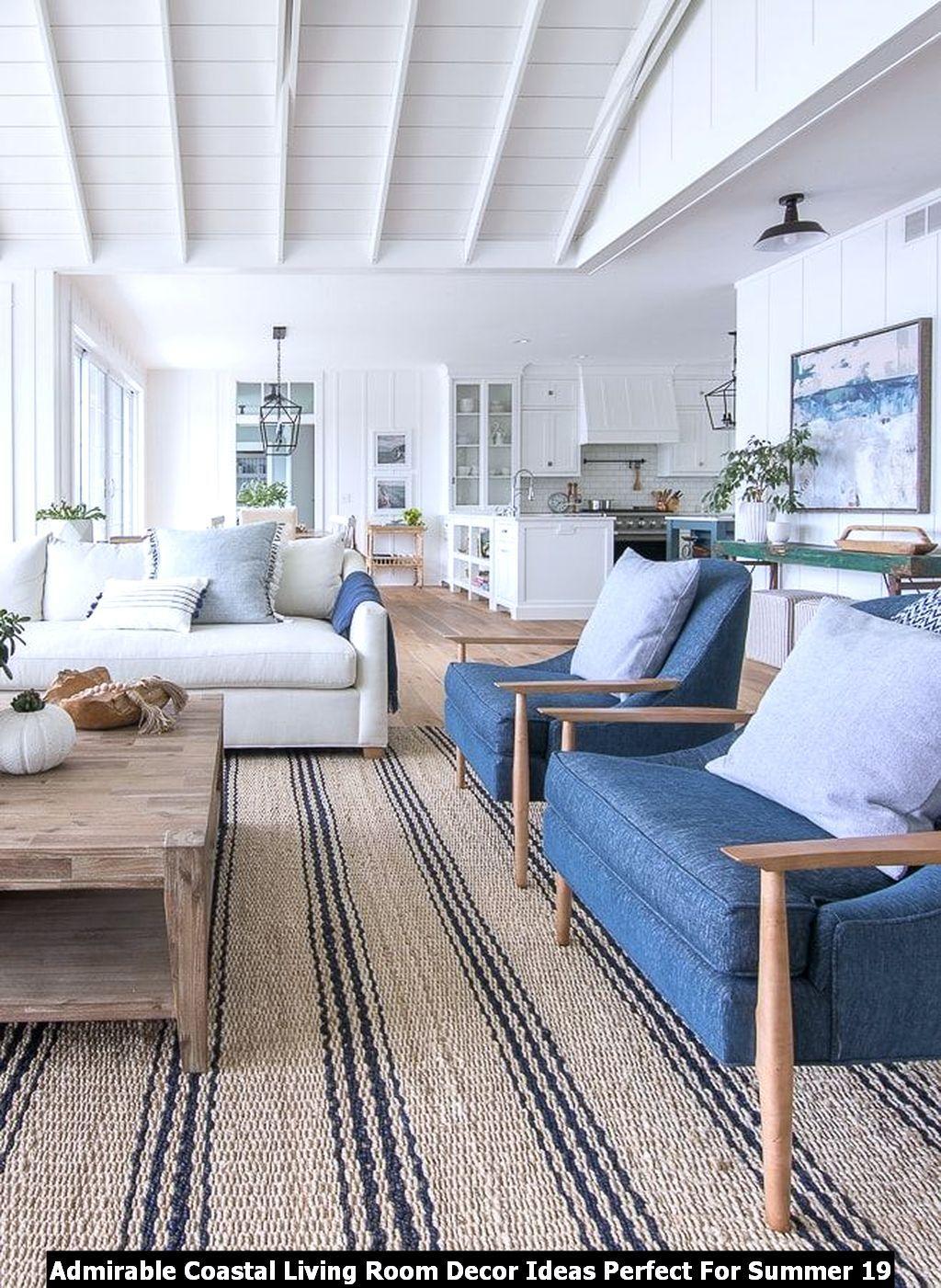 Admirable Coastal Living Room Decor Ideas Perfect For Summer Pimphomee Beach House Living Room Lake House Furniture Lake House Interior
