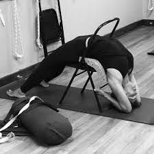 image result for marichyasana c adjustments props with