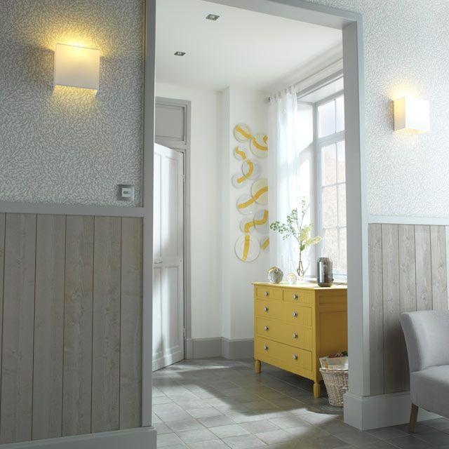 Lambris en sapin brossé gris galet | Rénovation gîtes ...