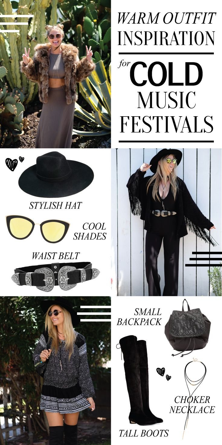 8bdf59b5d Warm Outfit Inspiration for Cold Music Festivals