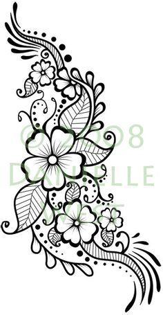 Henna Flowers Png Google Zoeken Henna Tattoo Designs Henna