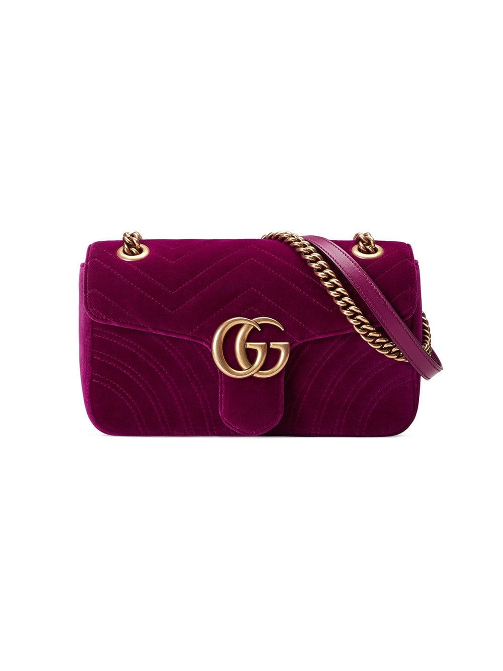 7d347c02a56d0 Gucci GG Marmont Velvet Shoulder Bag in 2019